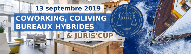 Co-working, co-living et Juris Cup